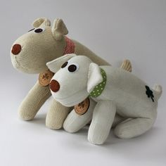Hand made in Ireland from socks, felt, ribbon and a cute Sealed with Irish Love Sock Dogs are available on our website. Beautiful Dogs, Dog Tags, Irish, Dinosaur Stuffed Animal, Christmas Gifts, Felt, Socks, Beige, Creative