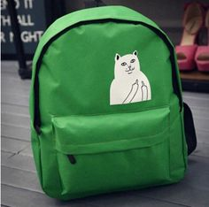 2016 Hot Cute Animal Printed Rucksack Laptop Lesuire Travel Bag Campus Female Girls Women Backpack Teenager Canvas Bags