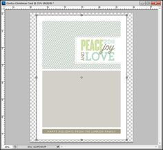 More Free Christmas Card Templates In Costco Sizes  Photography