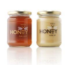 Honey packaging.
