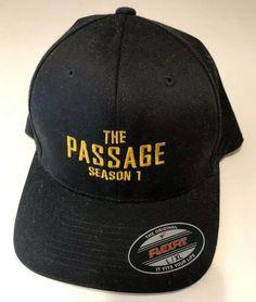 aaa920270c936 The Passage TV show Hat Cap Film Crew Wrap Gift FOX Swag Gosselaar Black  Cronin