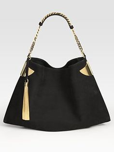 I'm really in to black and gold right now. Classic Gucci.
