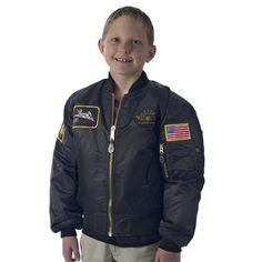 Top Gun Youth MA-1 Flight Jacket - Sportys Wright Bros