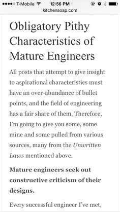 On being a senior engineer