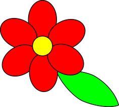 image result for single flowers images clip art spring pinterest rh pinterest com free spring clipart for teachers free spring clipart images