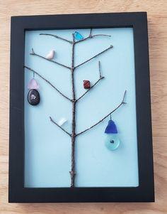 Glass Bottle Crafts, Sea Glass Crafts, Sea Glass Art, Shell Crafts, Fused Glass, Glass Bottles, Stone Crafts, Rock Crafts, Gem Crafts