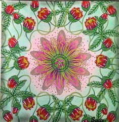 🌷🌸🌷 #milliemarotta #milliemarottabooks #milliemarottafans #flores #flowers #divasdasartes #nossa_vida_colorida #prazeremcolorir #beautiful…