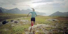 'A Good Day In The Mountains' Emelie Forsberg Runs 'Into The Light'  emilie forsberg = inspiring and adorable.