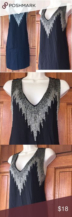 "H&M shift dress NWOT Never worn shift dress, sequined, length 37"", new never worn. H&M Dresses"