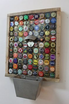 99 Beer Bottle Caps on the Wall.- 99 Beer Bottle Caps on the Wall….Custom Bottle Cap Beer Opener Items similar to 99 Beer Bottle Caps on the Wall….Custom Bottle Cap Beer Opener on Etsy - Custom Bottle Caps, Beer Bottle Caps, Custom Bottles, Bottle Cap Art, Bottle Opener, Bottle Cap Table, Beer Cap Table, Beer Bottles, Bottle Cap Coasters