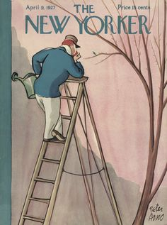 The New Yorker - Saturday, April 9, 1927 - Issue # 112 - Vol. 3 - N° 8 - Cover by : Peter Arno