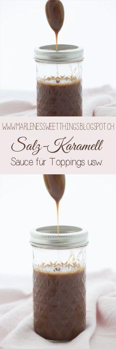Salz Karamel Sauce - Salted Caramell