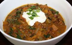 Meatless Monday: Lentil and Butternut Squash Curry