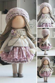 Puppen Rag doll Portrait doll Bambole Fabric doll Muñecas