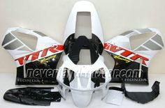Carenado de ABS de Honda VTR1000 RC51 2000-2006 - Negro/Blanco