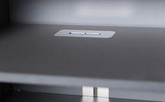Detailbild Kabeldurchlass TV Möbel System 180