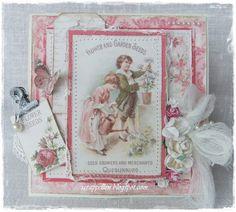 """ScrappEllen: """"Vintage Garden"""" by Pion Design♥"""