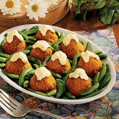 Salmon Croquettes Recipe -Mom frequently served salmon when I was a girl. Learning the ropes in the kitchen as I grew up, I got the chore of deboning the salmon. I didn't mind, because these light crisp croquettes are absolutely delicious. -Mary McGuire, Graham, North Carolina