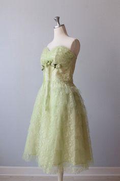 Vintage 1950s Dress / Prom Dress / Party by TheVintageMistress