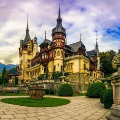 Discover Peleș Castle in Sinaia, Romania: This elaborately decorated, fairytale-like Romanian royal palace is one of the most striking castles in Europe. Beautiful Castles, Beautiful Places, Romanian Castles, Peles Castle, Contemporary Romance Novels, Dream Mansion, Fairytale Castle, Jessica Rabbit, Chateaus