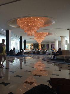Fontainebleau Miami lobby