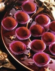 Mulled Wine Truffles – About Healthy Desserts Southern Praline Cake, Pecan Praline Cake, Pecan Pralines, Wine Recipes, Gourmet Recipes, Cookie Recipes, Oreo Truffles, Truffle Recipe, Mulled Wine