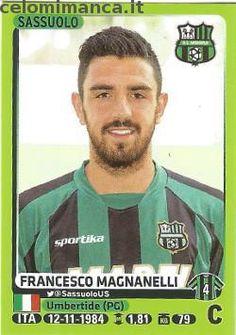 Calciatori 2014-2015: Fronte Figurina n. 457 Francesco Magnanelli