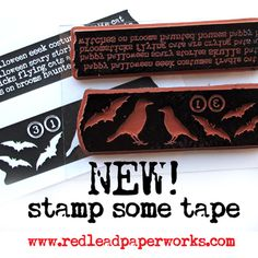 Tape-stamps!