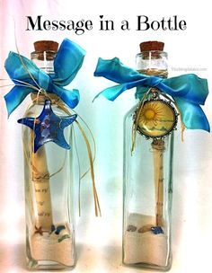 Message in a Bottle | @PluckingDaisy #WeddingDIY #Favors #Invitations