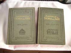 322) 2 Bände: Manuale di Storia dell ARTE, Preis 70€ RARITÄT!!!