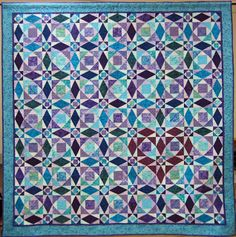 Colorado Springs Quilt Guild: Raffle Quilt... love the heart in storm @ sea