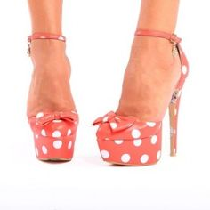 Lamby coral superwoman platform  from ILoveCuteShoes.com