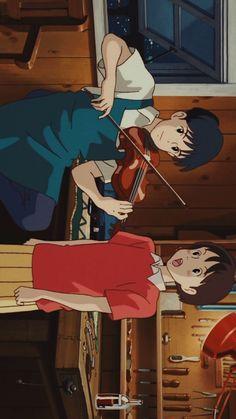 Studio Ghibli Movies Whisper Of The Heart Film Anime, Anime Manga, Anime Art, Manga Girl, Anime Girls, Studio Ghibli Art, Studio Ghibli Movies, Hayao Miyazaki, Animes Wallpapers