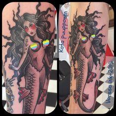 https://www.facebook.com/VorssaInk/, http://tattoosbykata.blogspot.com, #tattoo #tatuointi #katapuupponen#vorssaink #forssa #finland #traditionaltattoo #suomi #oldschool #pinup #mermaid