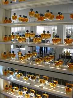 The Guerlain Store and Spa in Paris: perfume and pampering - Parfum - Perfume Display, Perfume Tray, Perfume Store, Perfume Bottles, Jade Jagger, Miniature Parfum, Perfume Diesel, Perfume Collection, Store Displays