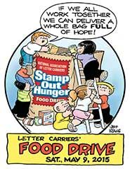 Stamp Out Hunger Food Drive - Saturday, 9 May 2015