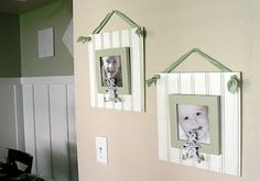 Someday Crafts: Guest Blogger - Craftify It - Beadboard Picture Key Holder