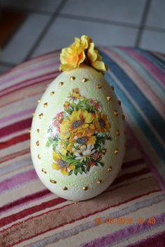 uovo decoupage, Decoupage egg