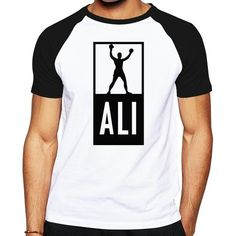 Summer Mens MUHAMMAD ALI T Shirts Men Fitness Casual shirt MMA Short Sleeve T shirt good quality clothing