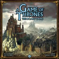 A GAME OF THRONES SECOND EDITION BOARD GAME 2nd ED FANTASY FLIGHT NEW & SEALED
