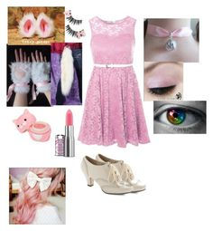 """Maxine the Kitty Cat (five nights at freddy's OC)"" by maxinepotter ❤ liked on Polyvore featuring True Decadence, Monday, Forever 21, OC, fnaf and fivenightsatfreddys"