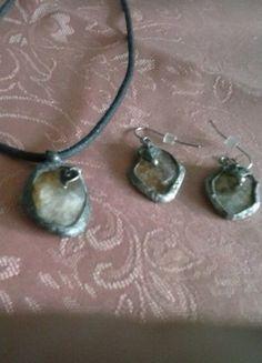 Kupuj mé předměty na #vinted http://www.vinted.cz/doplnky/sety/16545945-nabizim-sadu-sperku-z-cinu-rucni-vyroba-simira-anahata