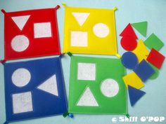 Items similar to Children's Shapes And Colours Felt Quiet Book PDF Pattern Busy Book on Etsy Diy Quiet Books, Baby Quiet Book, Felt Quiet Books, Toddler Activities, Activities For Kids, Wellness Activities, Shape Books, Quiet Book Patterns, Busy Book