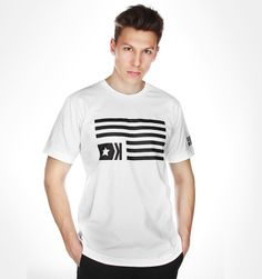 T-Shirt White FLAG ---> Shop at: www.hustla.pl/kartel  www.kartelbrand.com