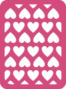 Silhouette Design Store - View Design #54472: heart journaling card
