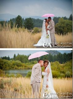 Love the umbrella color that pops against the grey sky (Eric Asistin Photography)