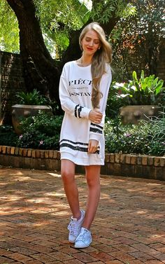 Fashionable Passion, tunic, street style, outfit, south africa, piéce de résistance, stan smith adidas