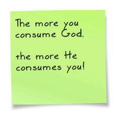 For a simple resume for a healthy diet of God, click my note or go to www.ginaduke.com,
