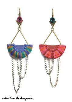 Des petites B.O colorées pour être à la mode toute l'année ! #ladroguerie #bijou #bo