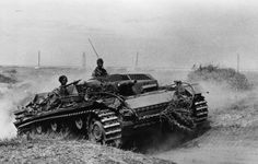 A Stug 3 with short barreled infantry support cannon